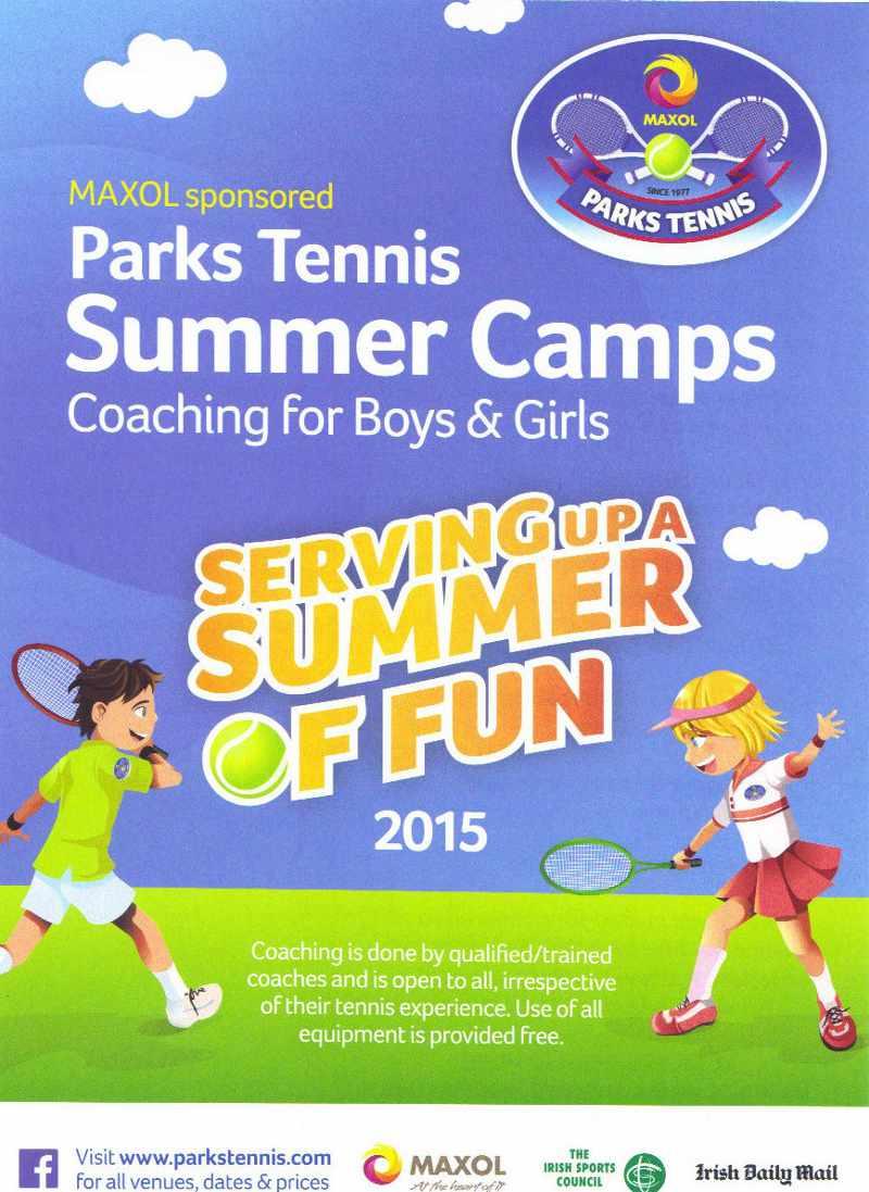 Parks Tennis Summer Camp